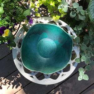 Green Waters Salad Bowl (Matte)