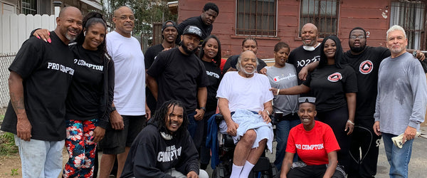 Compton Community Steps In To Give A Resident A Helping Hand