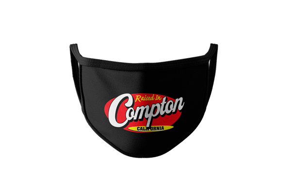 Raised In Compton Face Mask