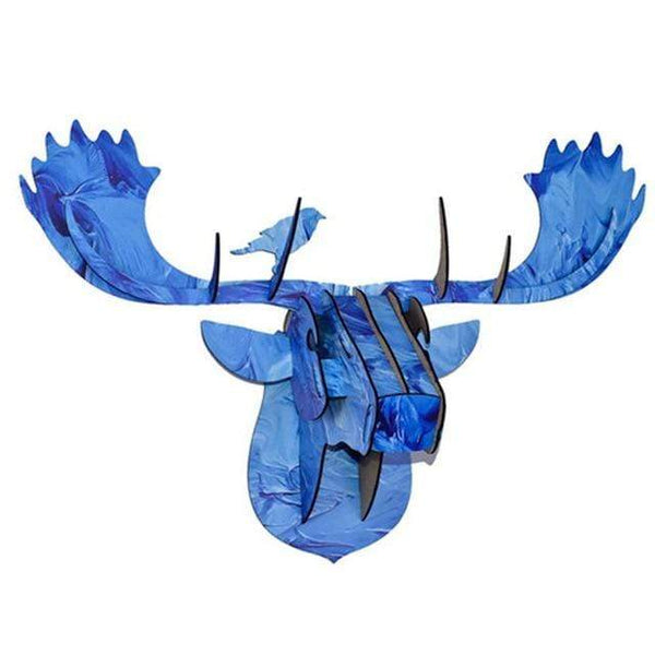 My Hero Buy 1 Aged Metal 3D Moose Head Ned