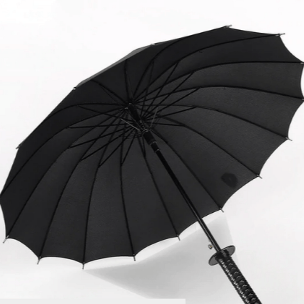 My Hero Buy 16 Ribs Samurai Hero Umbrella