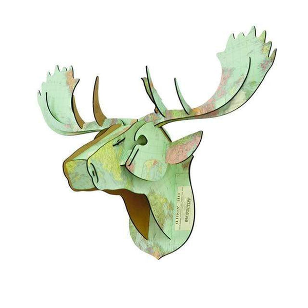 My Hero Buy 3 World Map 3D Moose Head Ned