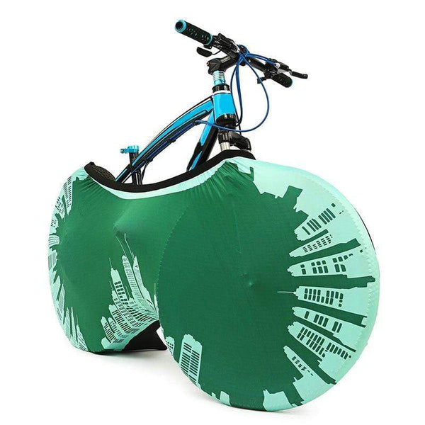 My Hero Buy 304 26Inch Universal Bicycle Wheel Cover Indoor Outdoor Anti Dust Bike Storage Bag Protection Cover Bicycle Protective Gear Portable