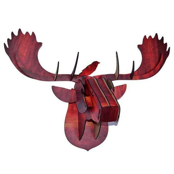 My Hero Buy 6 Autumn 3D Moose Head Ned