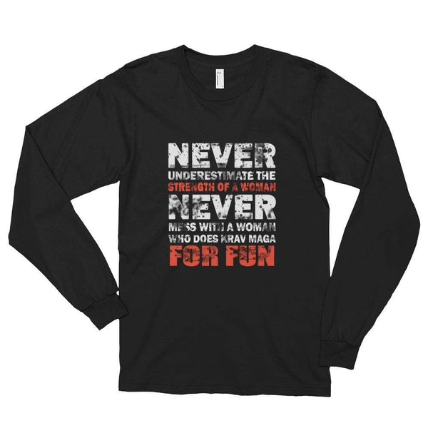 My Hero Buy Black / S Krav Long sleeve t-shirt (Unisex)