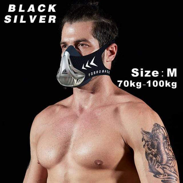 My Hero Buy United States / Carbon fiber M FDBRO sports mask Fitness ,Workout ,Running , Resistance ,Elevation ,Cardio ,Endurance Mask For Fitness training sports mask 3.0
