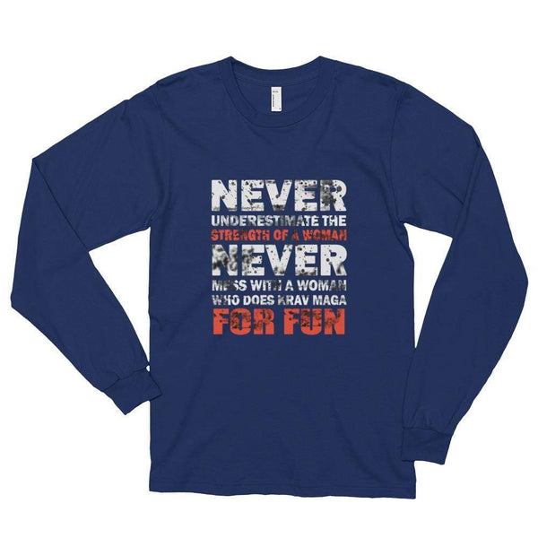 My Hero Buy Navy / S Krav Long sleeve t-shirt (Unisex)