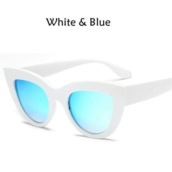 My Hero Buy White + Blue AH Sunglasses