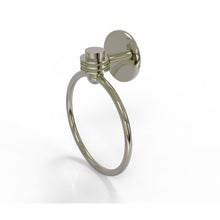 Allied Brass - Satellite Orbit One Collection Towel Ring with Dotted Accent