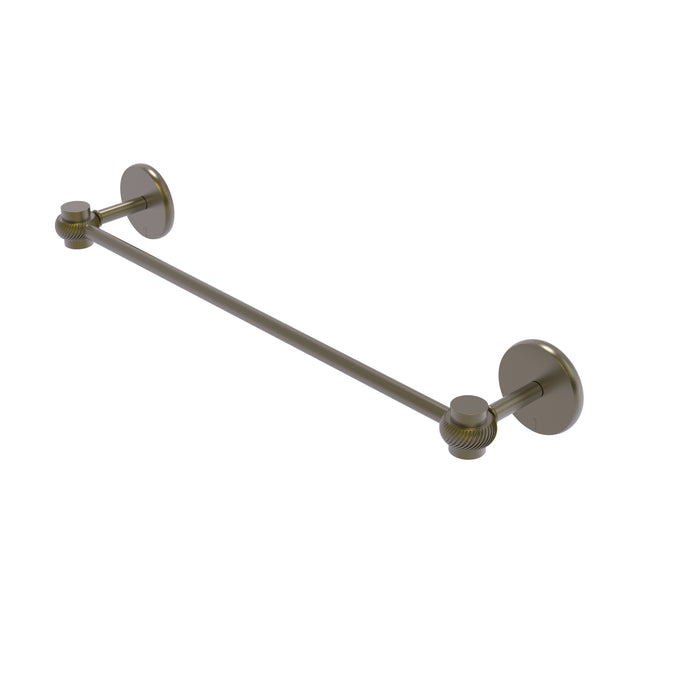 Allied Brass - Satellite Orbit One Collection 30 Inch Towel Bar with Twist Accents