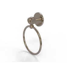 Allied Brass - Satellite Orbit Two Collection Towel Ring with Twist Accent