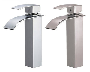 "Della 8042 11"" Single Hole Single Handle Polished Chrome Bathroom Faucet"
