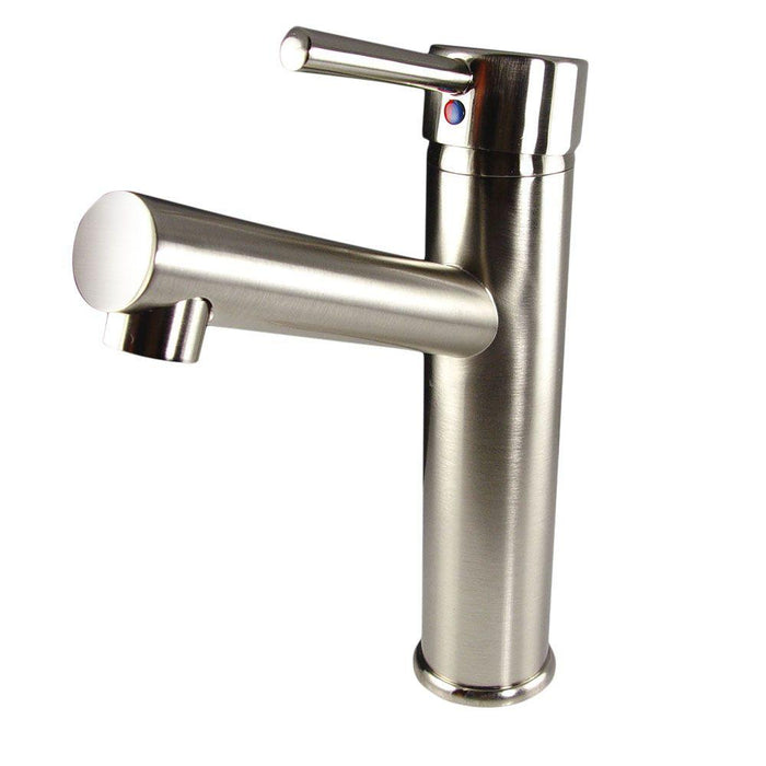 Fresca Savio Single Hole Mount Bathroom Vanity Faucet - Brushed Nickel