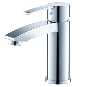 Fresca Livenza Single Hole Mount Bathroom Vanity Faucet - Chrome