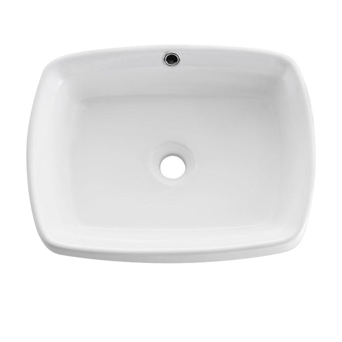 Fresca Bellezza White Vessel Sink