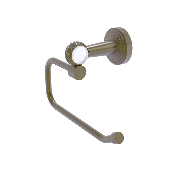 Allied Brass - Pacific Beach Collection European Style Toilet Tissue Holder with Twisted Accents
