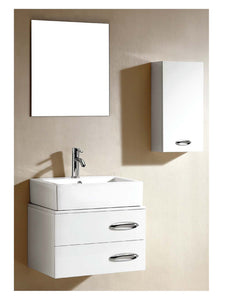 Dawn - Vanity Set: Sink Top (RET221706-01), Cabinet (REC231815-01), Side Cabinet (REMC110723-01) & Mirror (REM200123)