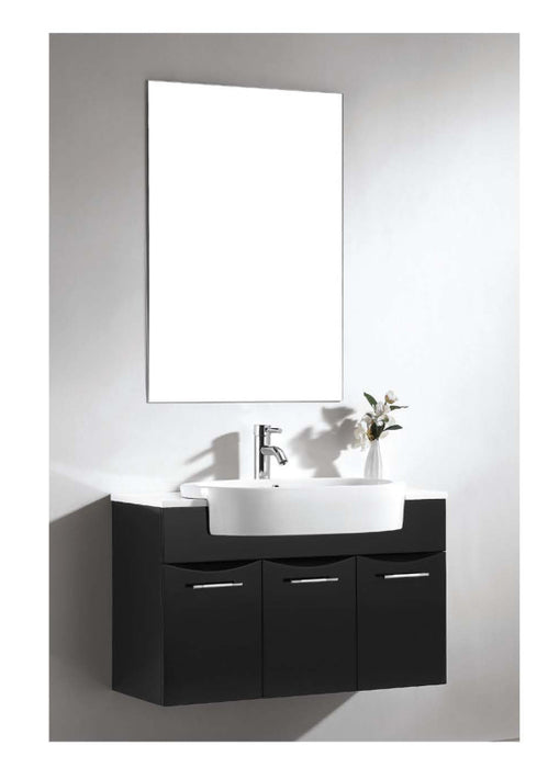 Dawn - Vanity Set: Sink Top (RET251405-06), Cabinet (REC331521-06) & Mirror (REM230135)