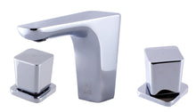 Polished Chrome Widespread Modern Bathroom Faucet