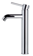 Tall Polished Chrome Single Lever Bathroom Faucet