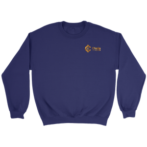 Chelle Coin Crewneck Purple