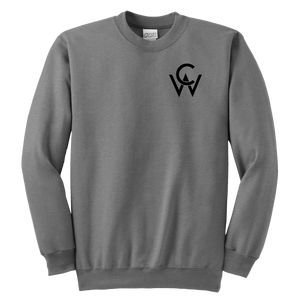 CW Youth Crewneck Sweatshirt Sport Grey