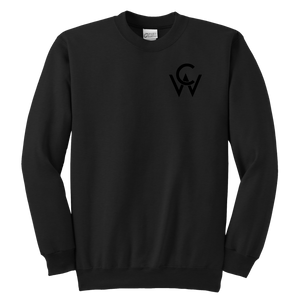 CW Youth Crewneck Sweatshirt Black