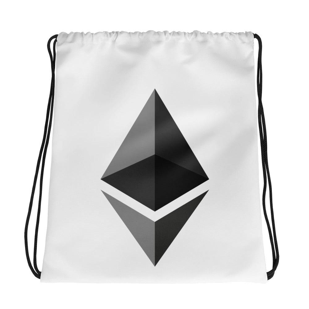 Ethereum Drawstring Bag