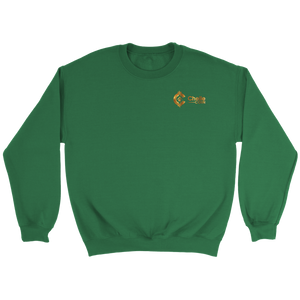 Chelle Coin Crewneck Irish Green