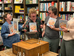 Teresa & friends at Blue Willow Bookshop