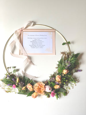 Language of Flowers Wedding Circle