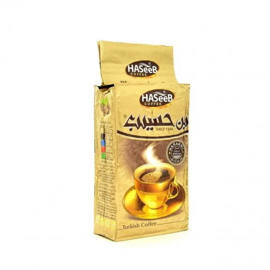 بن حسيب الذهبي 500غ | Haseeb gold ground turkish coffee 500g