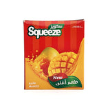 سكويز منغا 12 ظرف | squeeze mango juice powder 12 bags