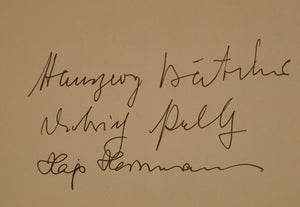Bombers of the Luftwaffe - Signed: Peltz,Batcher,Hermann