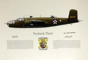 Doolittle Raiders Print Pay Back Time