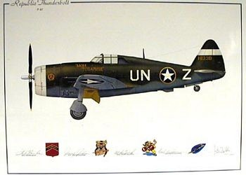 P-47 Republic Thunderbolt (Zemke,Quirk,Johnson,Mahurin)