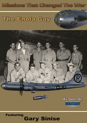"DVD Enola Gay ""Missions That Changed the War"""