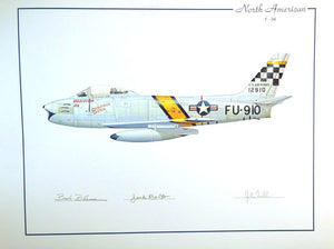 North American F-86 (Fischer, Johnson,Blesse,Parr)