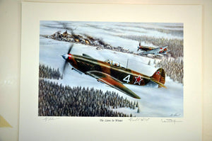 Lions in Winter Normandy-Niemen Regiment Yak 9