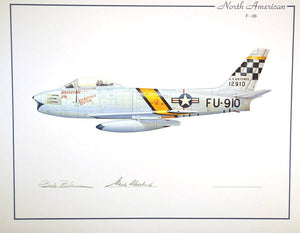 North American F-86 (Blesse & Cleveland)