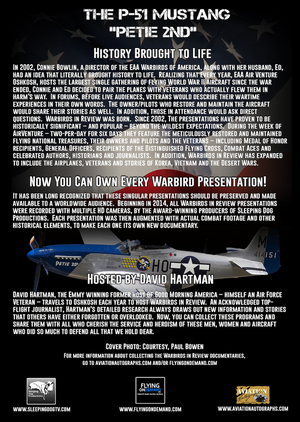 "Warbirds in Review 2014 The P-51 Mustang ""Petie 2nd"""
