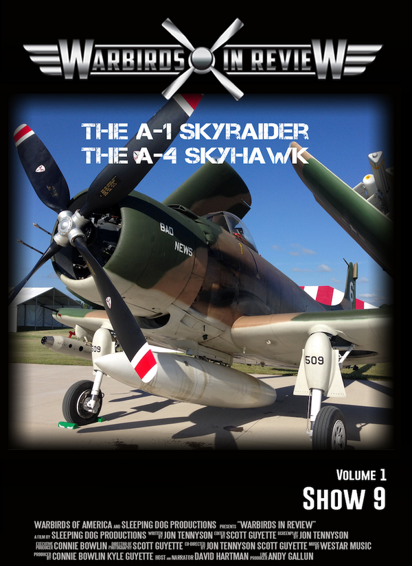Warbirds in Review 2014 the A-1 Skyraider and the A-4 Skyhawk