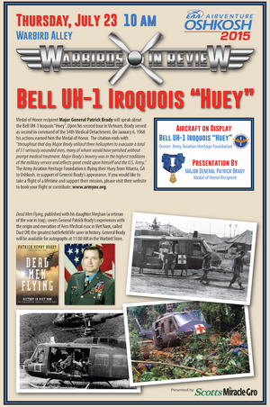 "Warbirds in Review 2015 Bell UH-1 Iroquois ""Huey"""