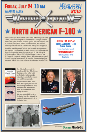 Warbirds in Review 2015  North American F-100