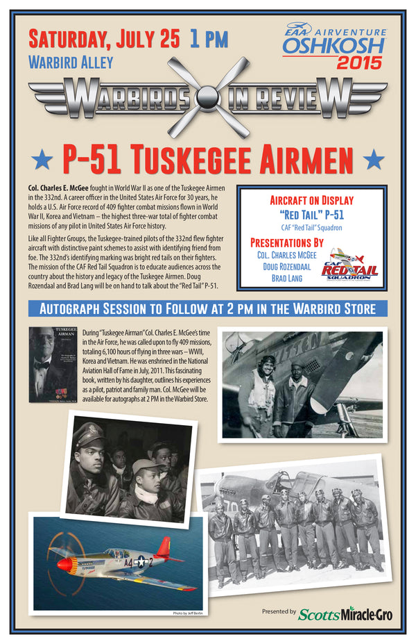 Warbirds in Review 2015 P-51 Tuskegee Airmen