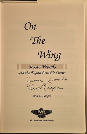 On the Wing: Jessie Woods and the Flying Aces Air Circus