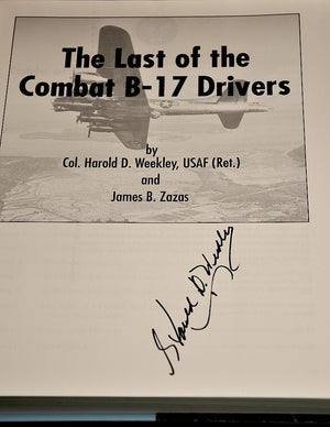 The Last of the Combat B-17 Drivers (Paperback)