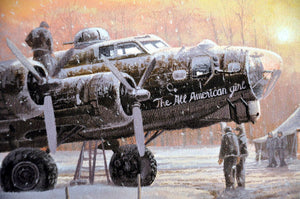 "Those Golden Moments B-17G ""The All American Girl"""