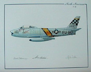 North American F-86 (Blesse & Bolt)