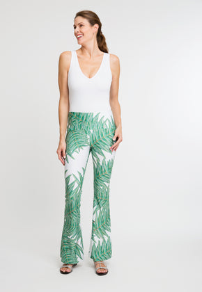 Elaine Pant in Queen Palm front view